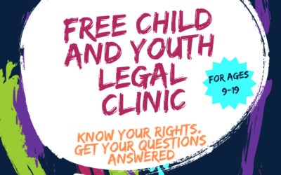 Free Child & Youth Legal Clinic